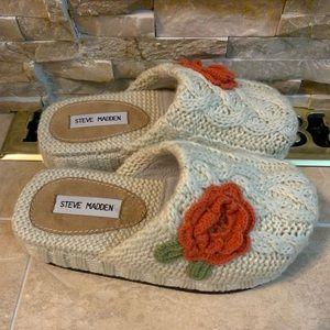 Steven Madden Slip-on Knit Sandal Size 7